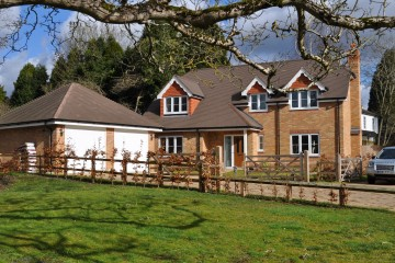 Walking distance of Liphook village detached family house sold by Trueman & Grundy