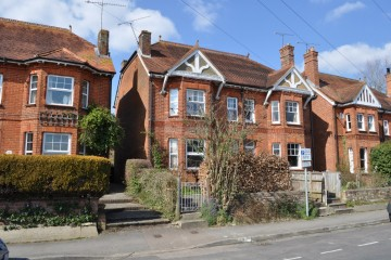 Beavers Road farnham town centre victorian semi detached property sold by Trueman & Grundy