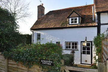 Farnham property for sale Grade II listed cottage in Tongham sold by Trueman & Grundy